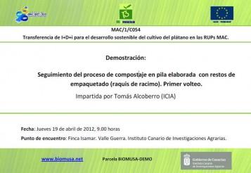 Transferencia de I+D+i para el desarrollo sostenible del cultivo del plátano en las RUPs MAC